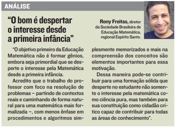 Análise Rony - A tribuna 14.08.2014 - pg. 17
